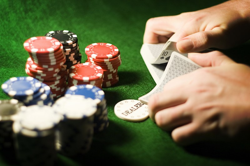 Order of high cards in poker