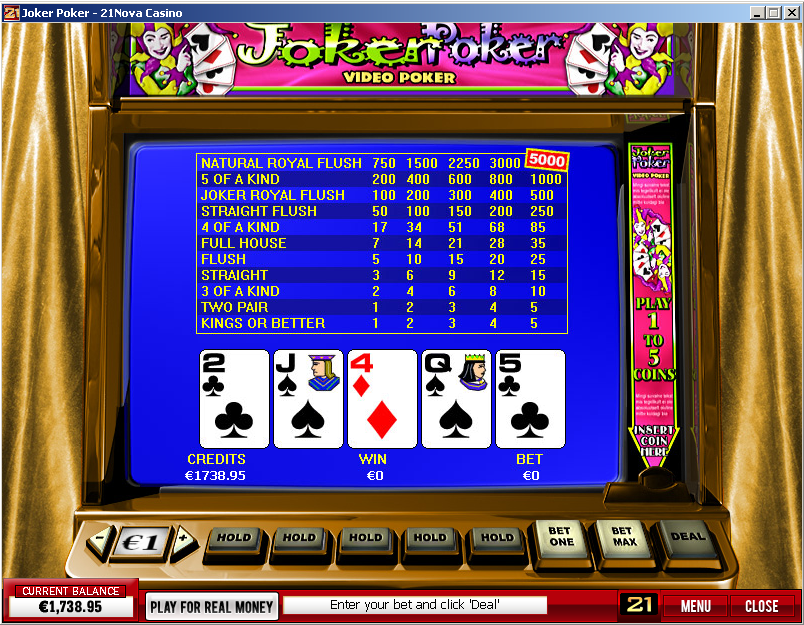 Joker Video Poker