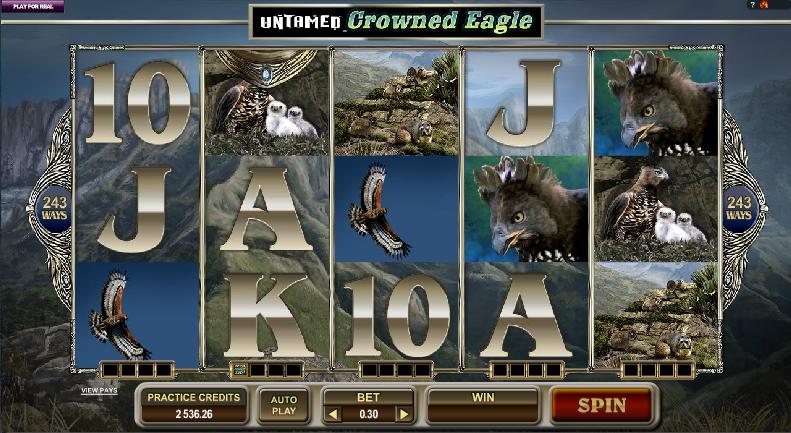 Untamed Eagle slots