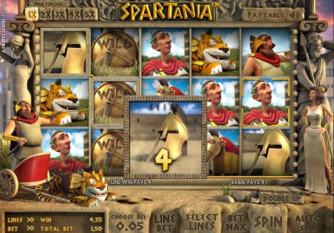 Gladiators and Spartans slots