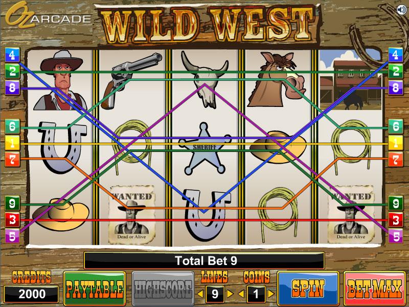 slots online casinos wild west spiele