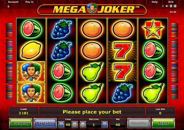 how to play online casino mega joker