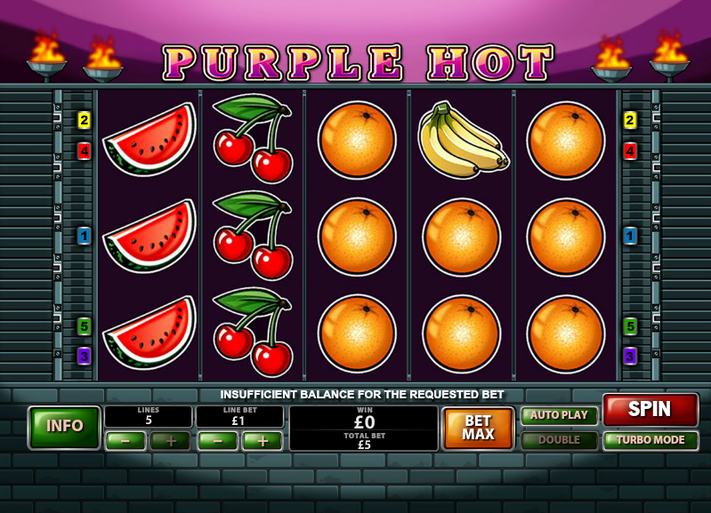 Purple Hot slots