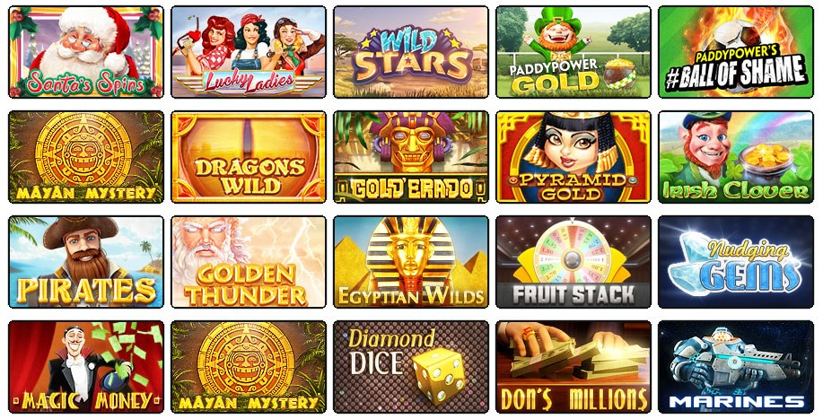 Real Money Slot Games